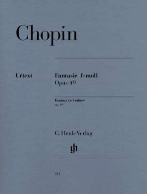 Fantaisie Fa Mineur Opus 49 CHOPIN Partition Piano - laflutedepan