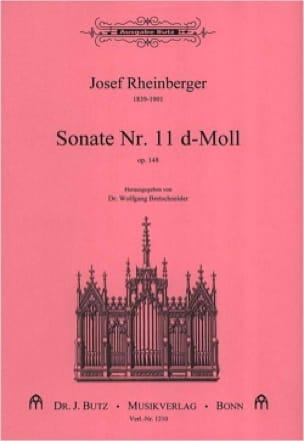 Sonate N° 11 Op. 148 - RHEINBERGER - Partition - laflutedepan.com