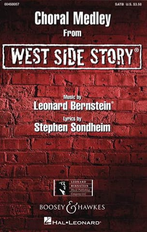 West Side Story. Choral Medley BERNSTEIN Partition laflutedepan
