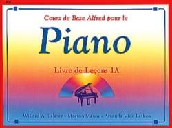 Alfred - Livre de Leçons 1A ALFRED Partition Piano - laflutedepan