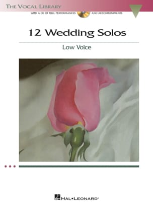 12 Weddings Solos. Voix Grave Partition Recueils - laflutedepan