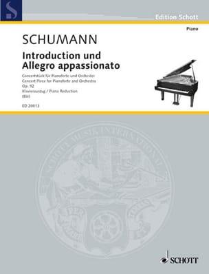 Introduction et Allegro Appassionato Op. 92 SCHUMANN laflutedepan