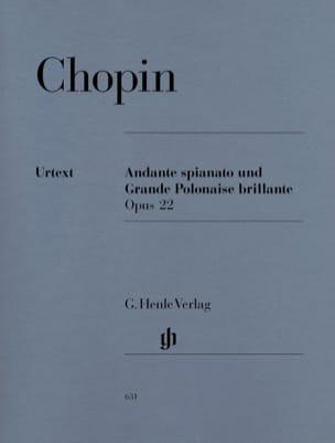 Andante spianato et Grande Polonaise brillante en Mi bémol Majeur, Opus 22 laflutedepan