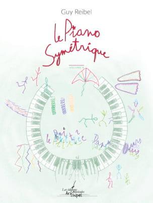Le Piano symétrique - Volume 4 - Guy Reibel - laflutedepan.com