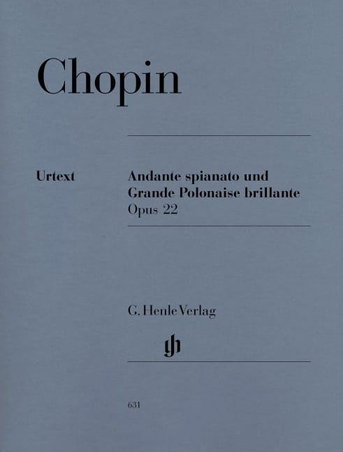 Andante spianato et Grande Polonaise brillante en Mi bémol Majeur, Opus 22 - laflutedepan.com