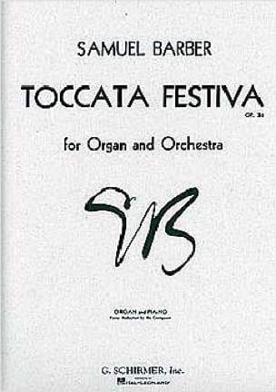 Toccata Festiva Opus 36 - BARBER - Partition - laflutedepan.com