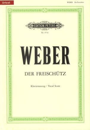 Der Freischütz Carl Maria von Weber Partition Opéras - laflutedepan