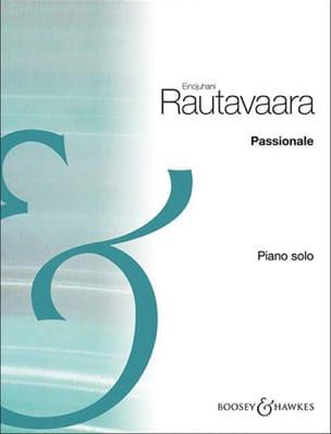 Passionale Einojuhani Rautavaara Partition Piano - laflutedepan