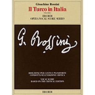 Il Turco In Italia Volumes 1 et 2 - ROSSINI - laflutedepan.com