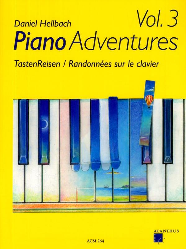Randonnées sur le Clavier Volume 3 - laflutedepan.com