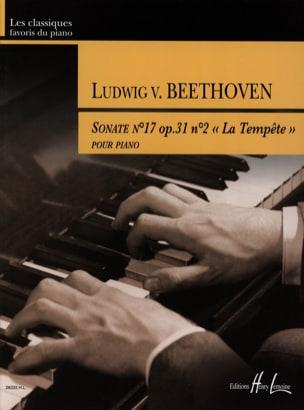Sonate Opus 31-2. la Tempête BEETHOVEN Partition Piano - laflutedepan