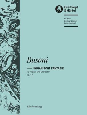 Indianische Fantasie Op. 44. 2 Pianos Busoni Partition laflutedepan