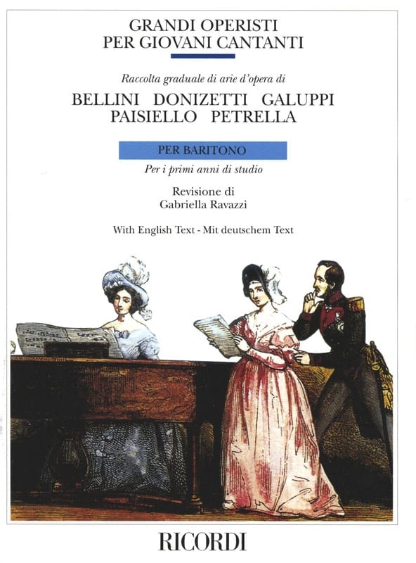 Grandi Operisti Per Giovani Cantanti. Baryton - laflutedepan.com