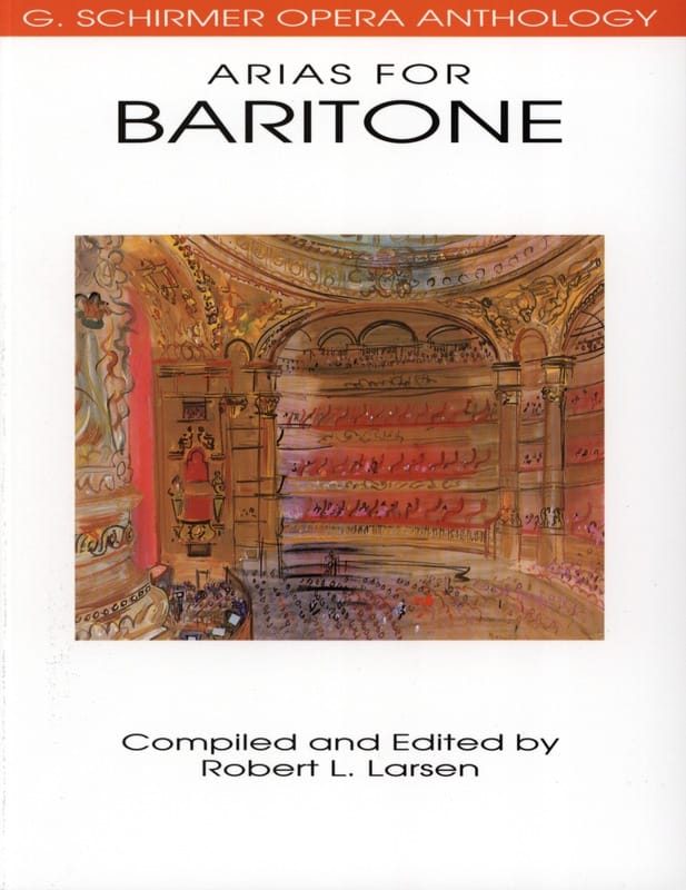 Opera Anthology : Arias Pour Baryton - laflutedepan.com
