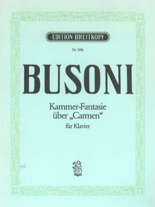 Kammerfantasie über Carmen BUSONI Partition Piano - laflutedepan