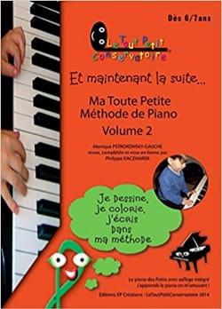 Ma Toute Petite Méthode de Piano Volume 2 Partition laflutedepan