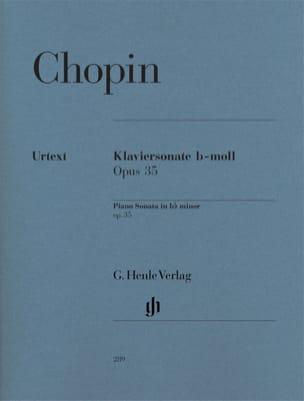 Sonate pour piano en si bémol mineur Opus 35 CHOPIN laflutedepan