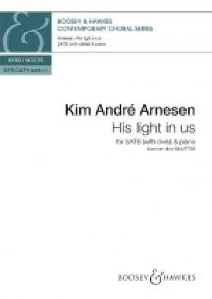 His Light in us - Kim André Arnesen - Partition - laflutedepan.com