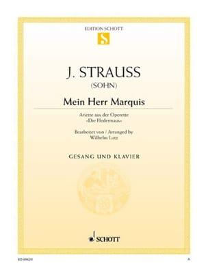 Mein Herr Marquis. Fledermaus Johann fils Strauss laflutedepan