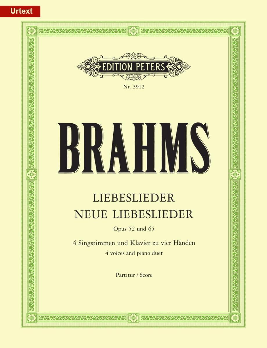 Liebeslieder und neue Liebeslieder - Opus 52 et 65 - laflutedepan.com