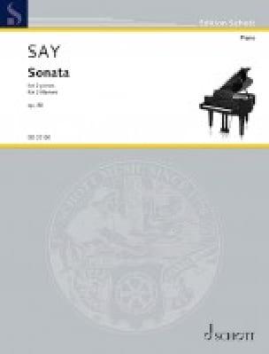 Sonate Opus 80. 2 Pianos - Fazil Say - Partition - laflutedepan.com