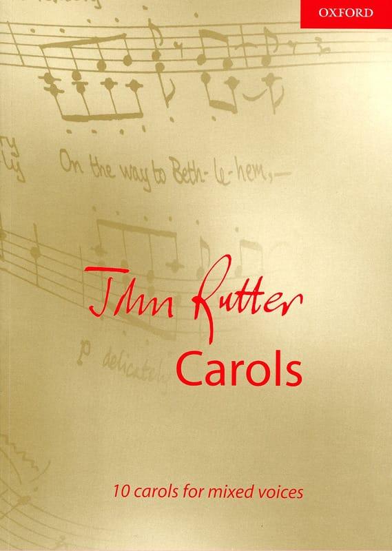 10 Carols - RUTTER - Partition - Chœur - laflutedepan.com