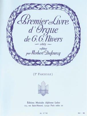 Livre D'orgue N°1. Volume 1 laflutedepan