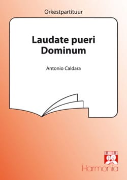 Laudate Pueri Dominum Psaume 112 CALDARA Partition laflutedepan