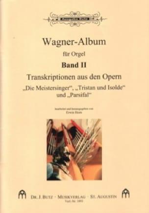 Transcriptions D'opéras Volume 2 - WAGNER - laflutedepan.com