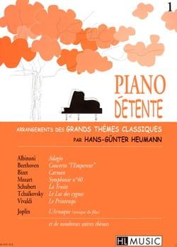 Piano Détente Volume 1 Partition Piano - laflutedepan