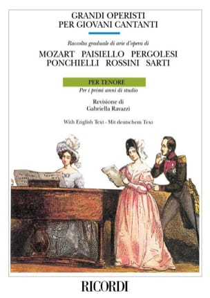 Grandi Operisti Per Giovani Cantanti. Ténor Partition laflutedepan