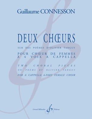 2 Choeurs - CONNESSON - Partition - Chœur - laflutedepan.com