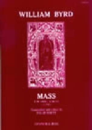 Mass For 3 Voices - Willam Byrd - Partition - Chœur - laflutedepan.com