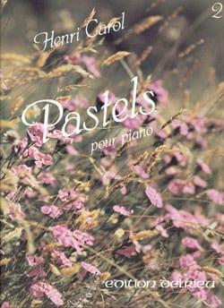 Pastels Volume 2 Henri Carol Partition Piano - laflutedepan