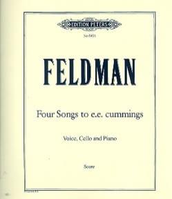 4 Songs To E.E. Cummings - Morton Feldman - laflutedepan.com