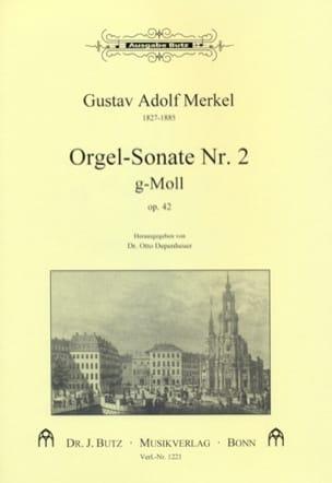 Sonate n° 2 Sol Mineur Op. 42 - Gustav Merkel - laflutedepan.com