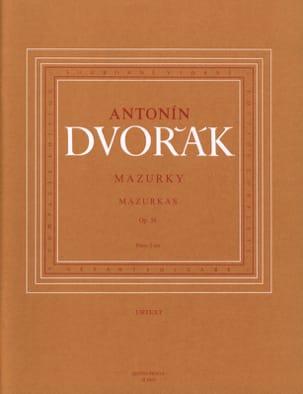 Mazurkas Op. 56 DVORAK Partition Piano - laflutedepan