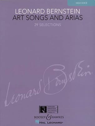 Art Songs And Arias. Voix Haute BERNSTEIN Partition laflutedepan
