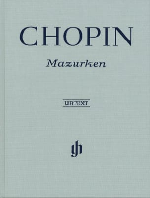 Mazurkas - Edition reliée CHOPIN Partition Piano - laflutedepan