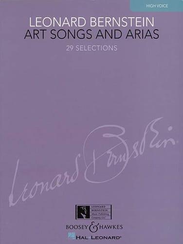 Art Songs And Arias. Voix Haute - BERNSTEIN - laflutedepan.com
