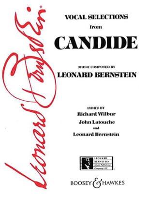 Candide Extraits BERNSTEIN Partition Opéras - laflutedepan