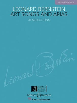 Art Songs And Arias. Voix Grave BERNSTEIN Partition laflutedepan