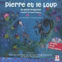 Pierre et le Loup Livre et Cd. Epuisé PROKOFIEV Livre laflutedepan