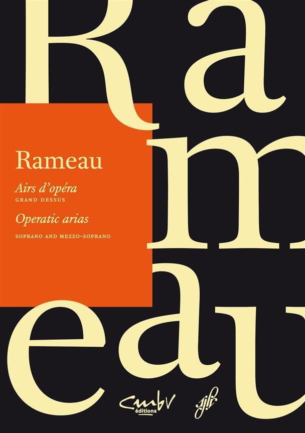 Airs d'opéra. Grand dessus - RAMEAU - Partition - laflutedepan.com