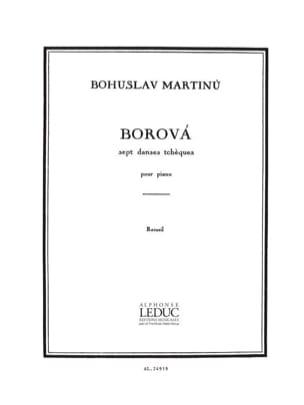 Borova MARTINU Partition Piano - laflutedepan