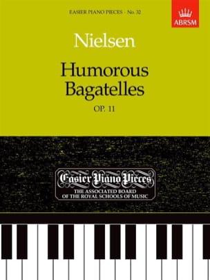 Humorous Bagatelles Op. 11 NIELSEN Partition Piano - laflutedepan