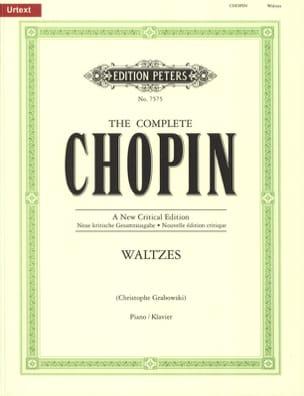 Valses CHOPIN Partition Piano - laflutedepan