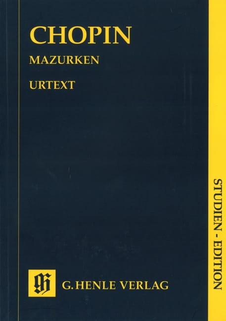 Mazurkas - CHOPIN - Partition - Petit format - laflutedepan.com