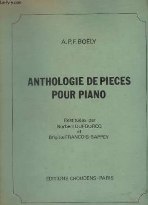 Anthologie de Pièces Alexandre Pierre François Boëly laflutedepan