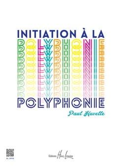 Initiation à la polyphonie Paul Huvelle Partition Piano - laflutedepan